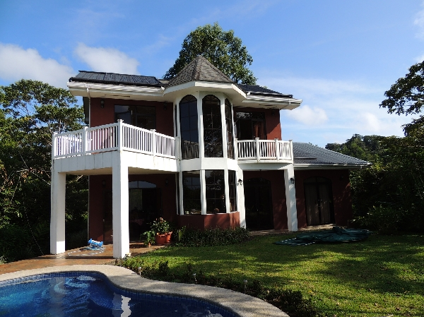 Lake And Volcano View Home in Gated Community Just Five Minutes From Downtown Nuevo Arenal