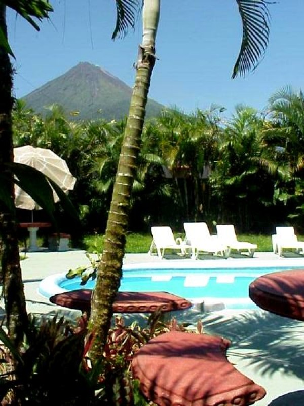 Rustic Hotel in the Shadow of Arenal Volcano