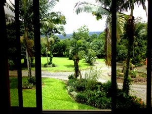 Wonderulful house in La Fortuna with 2 small fish ponds and Amazing Views of the Volcano!!!