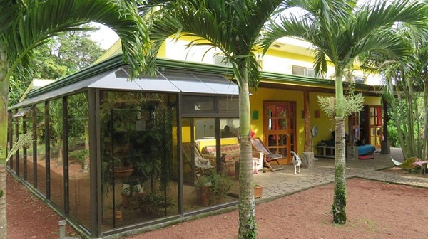 Tropical 2BR home on Organic Farm and Coffee Plantation