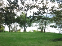 Prime Acreage directly on the Lake and Main Road