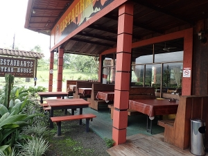 Rustic Volcano view Restaurant in La Fortuna