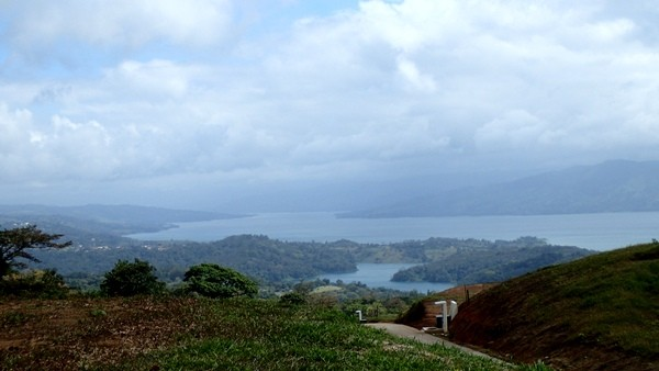 2 Acres on Paved Road with Top-of-the-Line Views of the Lake and Volcano